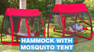 This Hammock Tent Helps You Relax In a Hammock With No Mosquitoes ...