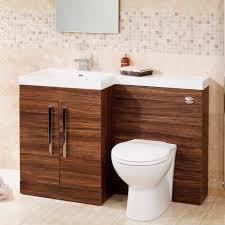 Bathroom Suites Ebay Walnut Modern Bathroom Furniture Toilet Wc Wash Basin Storage