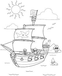 Disegni Da Colorare Per Bambini Nave Dei Pirati Disegni Da Colorare