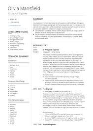 Cv Template Engineer Magdalene Project Org