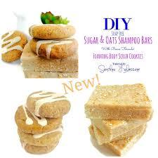diy sugar shampoo tutorial solid shampoo bar and foaming image