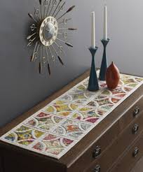 cordova table runner from my book the quilter s appliqué work