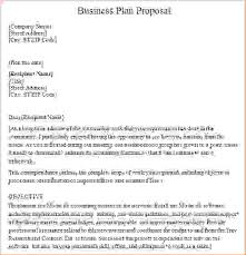 example of a business plan 8 business plan proposal procedure template sample