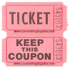 images of raffle tickets carnival king pink 2 part raffle tickets 2000 roll