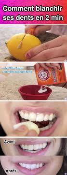 utilisez du bicarbonate et du citron pour blanchir dents rapidement