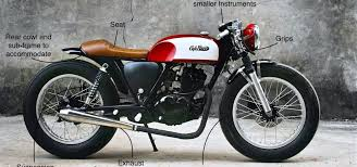 how to replicate the 60s look of a café racer