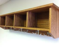 Unfinished Coat Rack Unfinished 100 Entryway Shelf with Cubbies by KennedyWoodworking 93