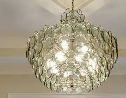 recycled glass lighting. Recycled Glass And Iron Room Chandelier Lighting