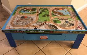 thomas and friends wooden railway grow with me play table set lot 100 pieces 1852530026