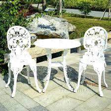 white iron patio furniture. Interesting Patio White Iron Garden Furniture Brilliant White Metal Patio Furniture  Aluminum Table Fantastic Online Get On Iron D