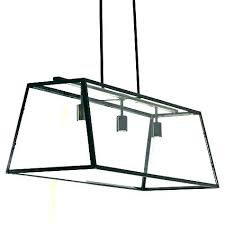 rectangular iron chandelier dining room light fixtures black rectangle wrought candle ceiling