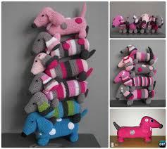 Dog Crochet Pattern Custom DIY Crochet Amigurumi Puppy Dog Stuffed Toy Free Patterns