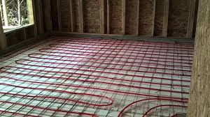 How We Install Radiant In Floor Heat Youtube