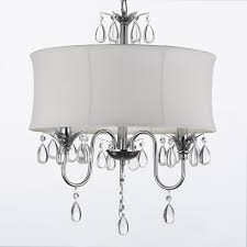 gorgeous design of the mini chandelier glass crystals that used white as the basic color of the chandelier make it seems so elegant with white touch can add