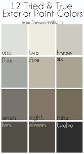 brown exterior paint color schemesExterior Paint Colors One Nebulous White Two Alabaster Three