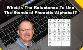 Translates the normal alphabet into the phonetic alphabet used in the military. Reluctance To Use The Standard Phonetic Alphabet Rg Group