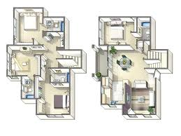 Two Bedroom Townhouse Plans Trend Picture Of Guest House Plans 2 Bedroom  Model Decor 5 Bedroom .