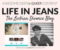 Lesbian life after divorce