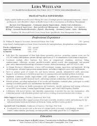 Resume Format For Back Office Resume