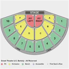 Greek Theater Berkeley Seating Chart Facebook Lay Chart
