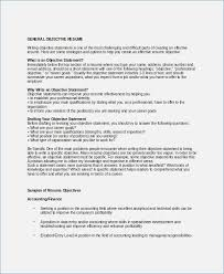 Writing A Objective For Resume How to Write A General Objective for Resume fluentlyme 97