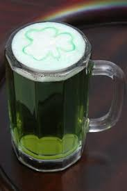 traditional green beer for st patrick s day