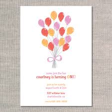 Balloon Birthday Invitations Balloon Bunch Uh Oh Pasghettio