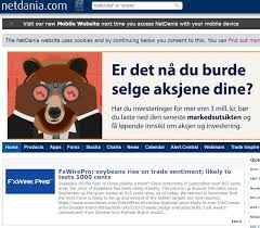 Netdania Forex Charts Netdania Has Obtained A Strong Position Within The Corporate