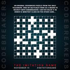 An Original Crossword Imitation Game Games Crossword