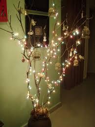 How To Hanging Twig Christmas Tree  CurblyTwig Tree Christmas