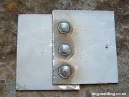 Plug Welds And Mig Spot Welding