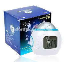 sky star night light projector lamp bedroom alarm clock lovely popular master clock