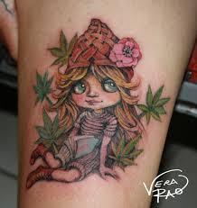Marijuana Doll Tattoo By Sabina Tattoo