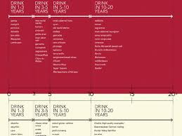 Wine Aging Chart How Long Should I Cellar Wine Wine Infographic Wine