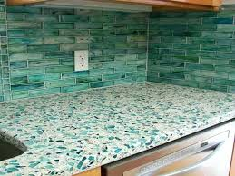 sea glass kitchen recycled ideas new trends awesome s bathroom countertops for