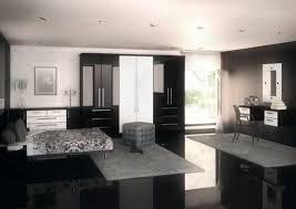 Schlafzimmer Einrichtungsideen Schwarz Weiß Teppich Grau