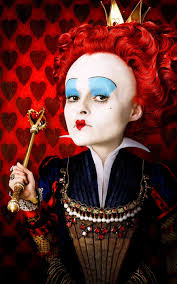 tim burton s alice in wonderland changed this characters name from queen of hearts to the red queen helena bonham carter performs
