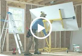 how to hang dry wall what installing drywall ceiling by yourself installing drywall on concrete floor