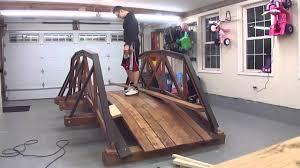 Small Picture Design Build Wood Truss Bridge Backyard Decoration Time Laps