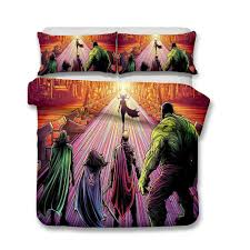 marvel thor 3d printed bedding sets duvet jpg