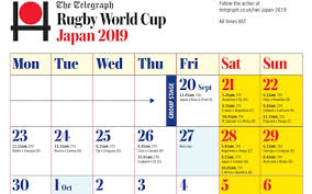 World Cup Chart Pdf Print Your Rugby World Cup 2019 Calendar