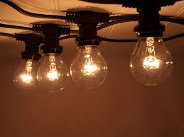 festoon lighting in a variety of colours supplied with weatherproof silicon sleeves ensures the lighting remains safe
