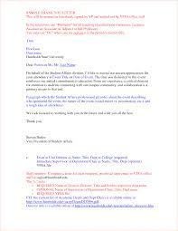 2 Thank You Letter Appreciation Ganttchart Template