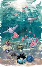 Cute Water Pokemon Art - Novocom.top