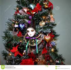 Royalty-Free Stock Photo. Download Christmas Tree With Clown ...
