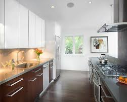 Cabinet Two Colour Kitchen Cabinets Alternatives To White Kitchen