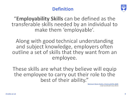 Define Transferable Skills Using Online Portfolios To Assess Internships Ppt Download