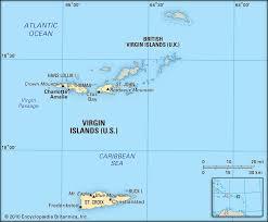 Caribbean Islands Comparison Chart Virgin Islands Maps Facts Geography Britannica
