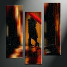 abstract art decor 3 piece modern red umbrella wall home canvas prints  decorations . abstract art decor ...