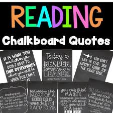 Reading Chalkboard Quotes Reading Motivation Posters By Katie Surly Best Chalkboard Quotes